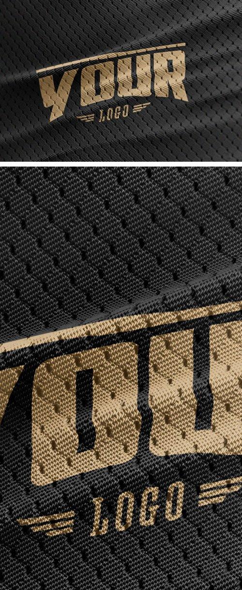 Sports Jersey Texture PSD Mockup