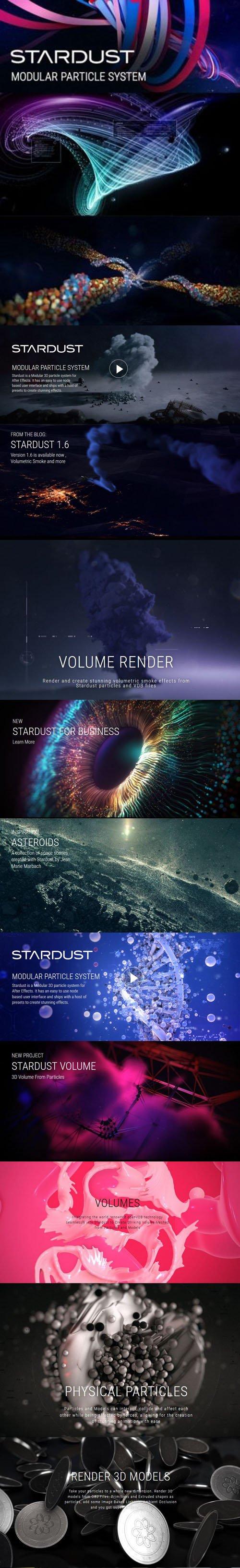 Superluminal Stardust 1.6.0 Plugin for Adobe After Effects