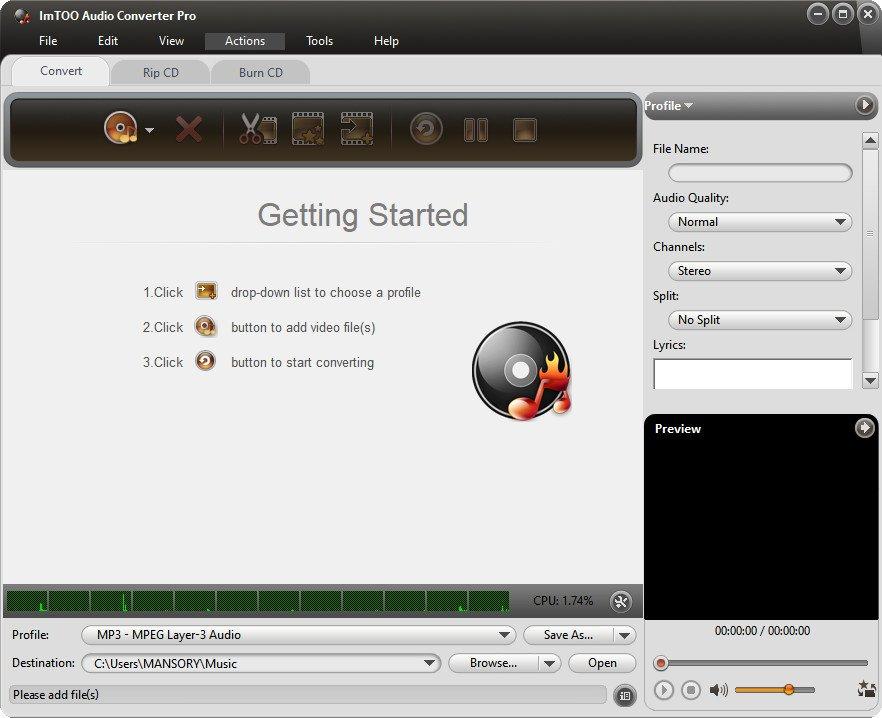 ImTOO Audio Converter Pro 6.5.1 Build 20200719 Multilingual