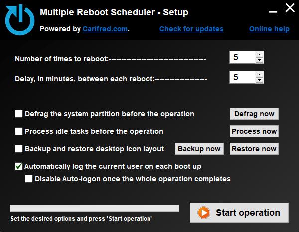 Multiple Reboot Scheduler 2.1.0.0