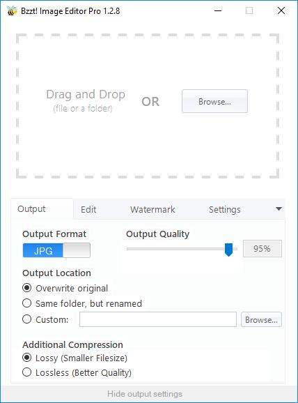 Bzzt! Image Editor Pro 1.2.8 Multilingual