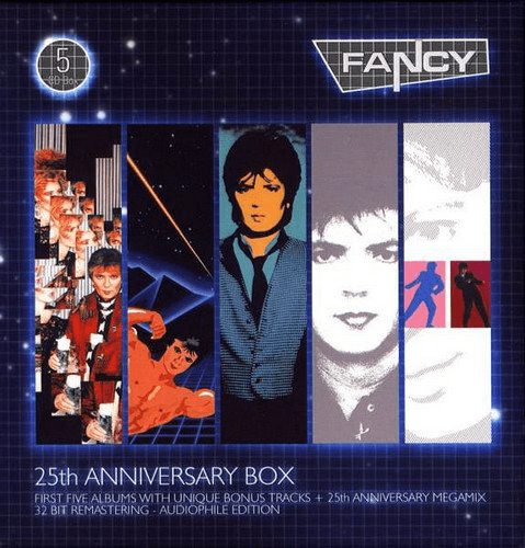 Fancy   25th Anniversary Box (5CD, Remastered Box Set) (2010) MP3
