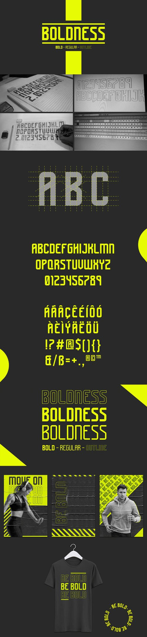 Boldness Modern Typography Font [2-Weights]