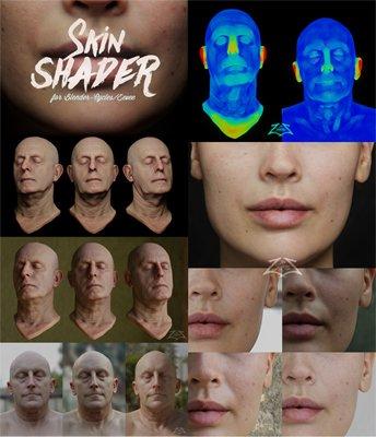 Skin Shader for Blender [Cycles/EEVEE]