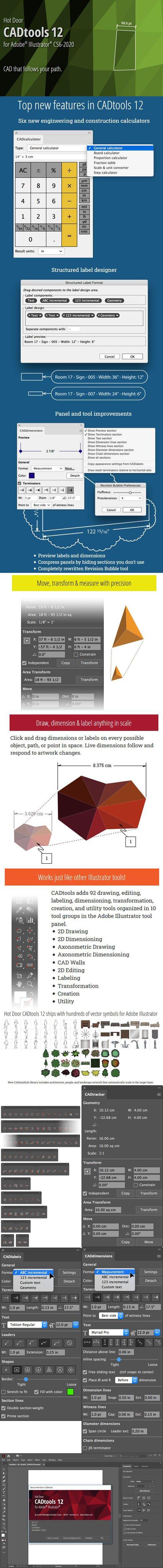 Hot Door CADtools 12.1.3 Plugin for Adobe Illustrator