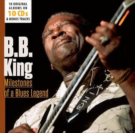 B.B. King ‎- Milestones Of A Blues Legend (10CD, BoxSet) (2015)