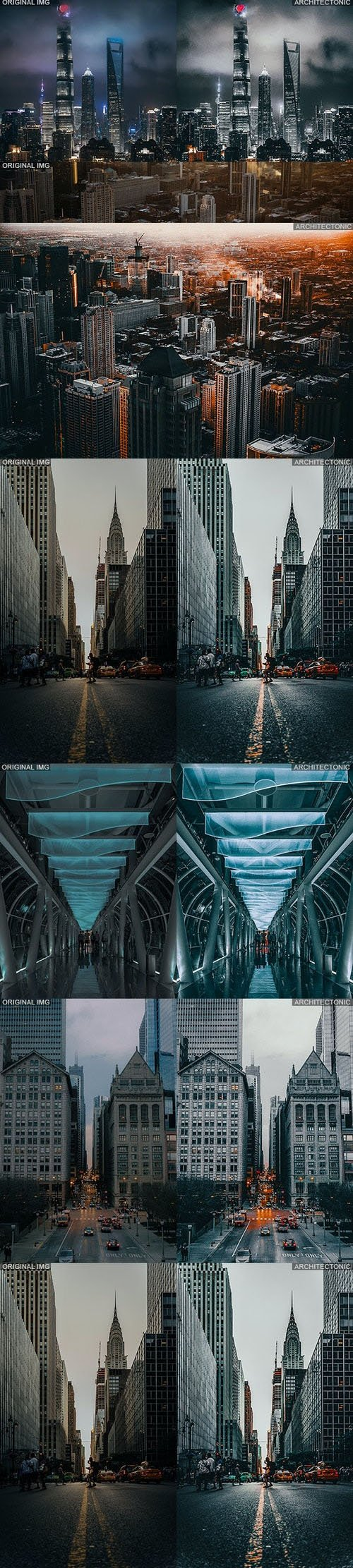 Architectonic Actions for Photoshop