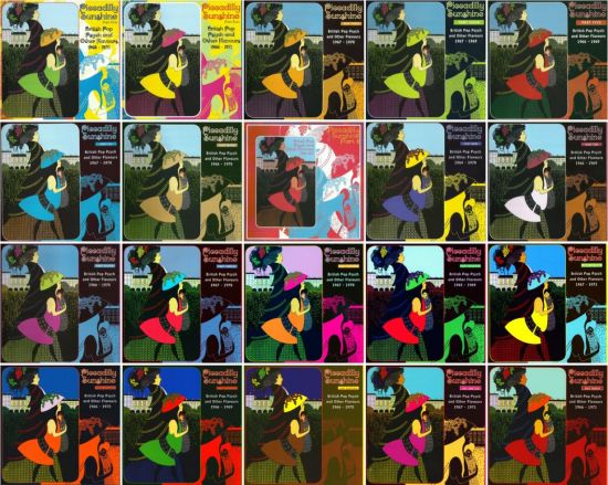 VA   Piccadilly Sunshine: A Compendium Of Rare Pop Curios From The British Psychedelic Era [1964 1972, 20 CDs] (2009 2015) MP3