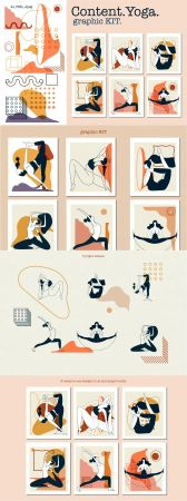 Content Yoga Graphic KIT 5120352