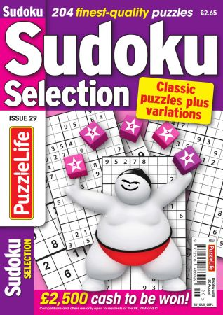 Sudoku Selection   Issue 29, 2020