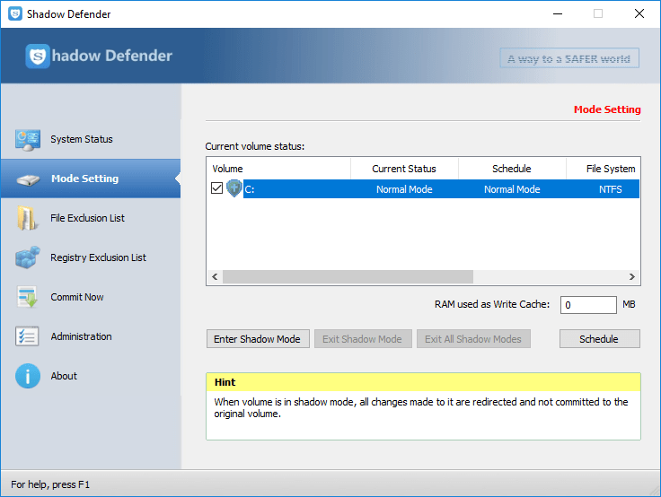 Shadow Defender 1.5.0.726 Multilingual