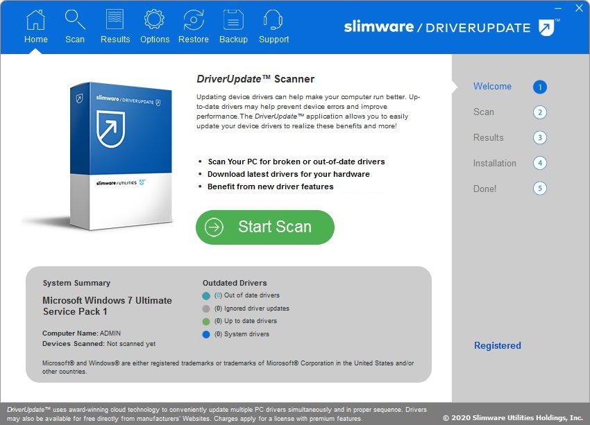 SlimWare DriverUpdate 5.8.13.48