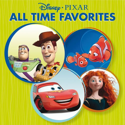 VA   Disney Pixar All Time Favorites (2012)