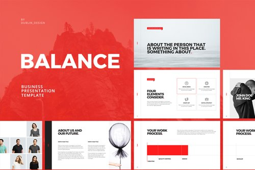 Balance - Business Presentation Template
