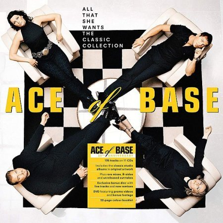 Ace Of Base - All That She Wants: The Classic Collection (11CD) (2020)