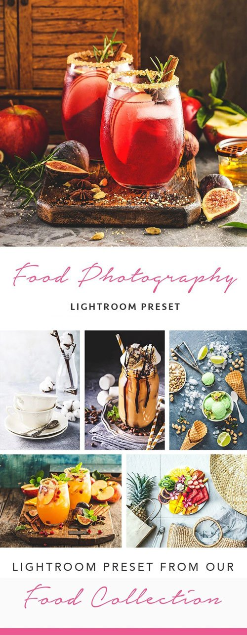 Food Photography - Lightroom Presets