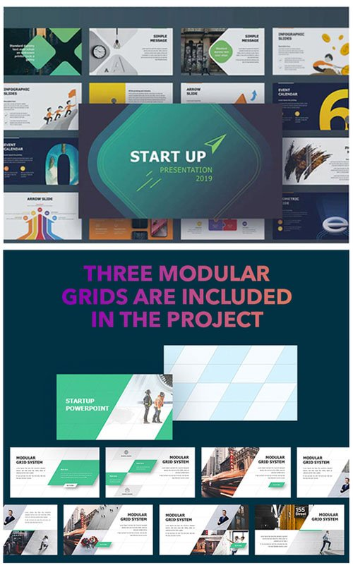 StartUp Presentation 2019 Template