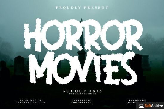 Horror Movies Font