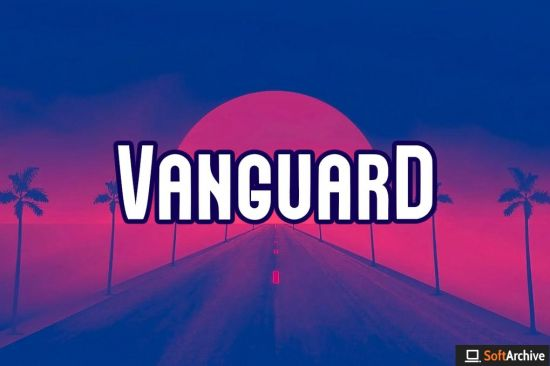 VANGUARD   Unique Neo Retro Display Typeface