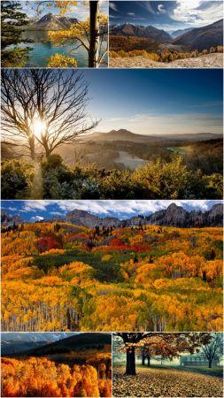 Fall scenery wallpaper (Pack 27)