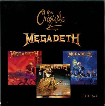 Megadeth - The Originals (3CD) (1997)