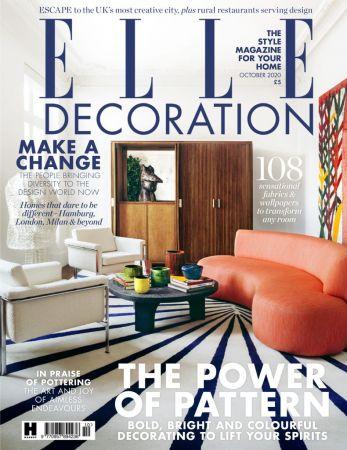Elle Decoration UK   October 2020
