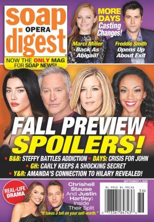 Soap Opera Digest   September 07, 2020