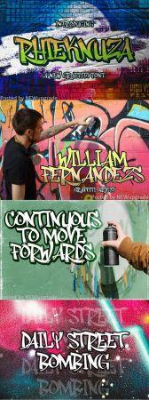 Creativemarket   Rhieknuza   Graffiti Font 5232051