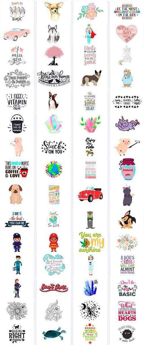The Bargain Bundle Vol.13 - 40 Premium Fonts + 120 Premium Crafts