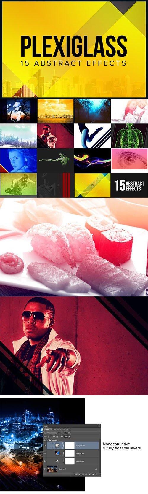 15 Abstract Effects - Plexiglass