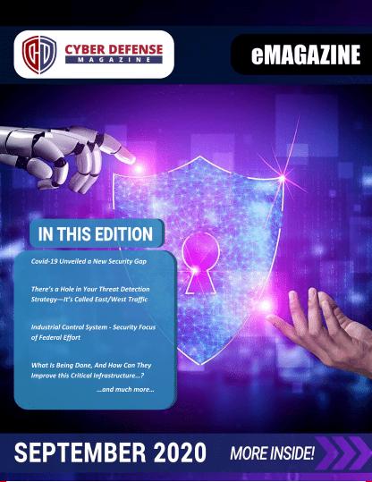 Cyber Defense Magazine   September 2020