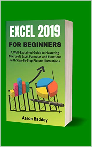 EXCEL 2019 FOR BEGINNERS: A Well Explained Guide to Mastering Microsoft Excel Formulas and Functions with Step By Step Pictures