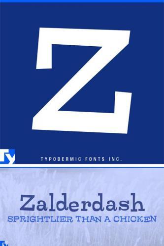 Zalderdash Font
