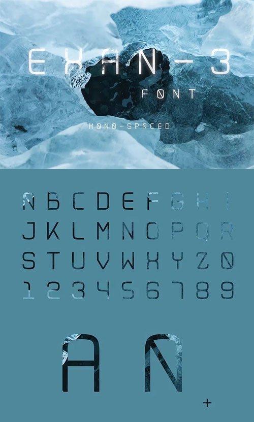 Exan-3 Font