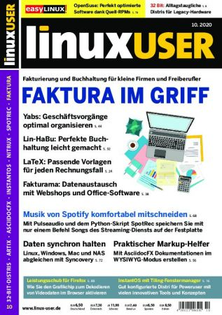 LinuxUser   Oktober 2020