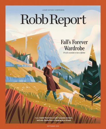Robb Report USA   September 2020