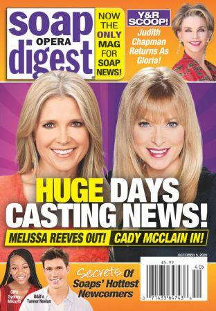 Soap Opera Digest   October 05, 2020