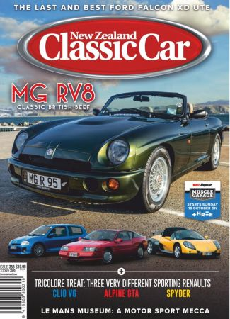 New Zealand Classic Car   October 2020