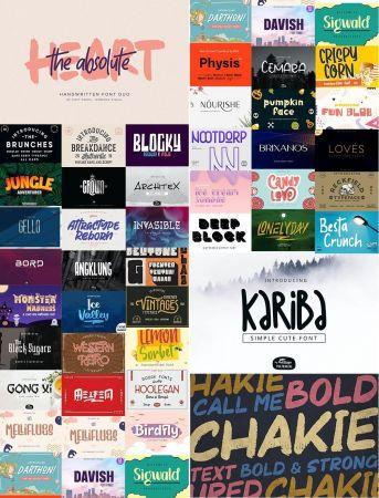 Super Fonts Pack September 2020