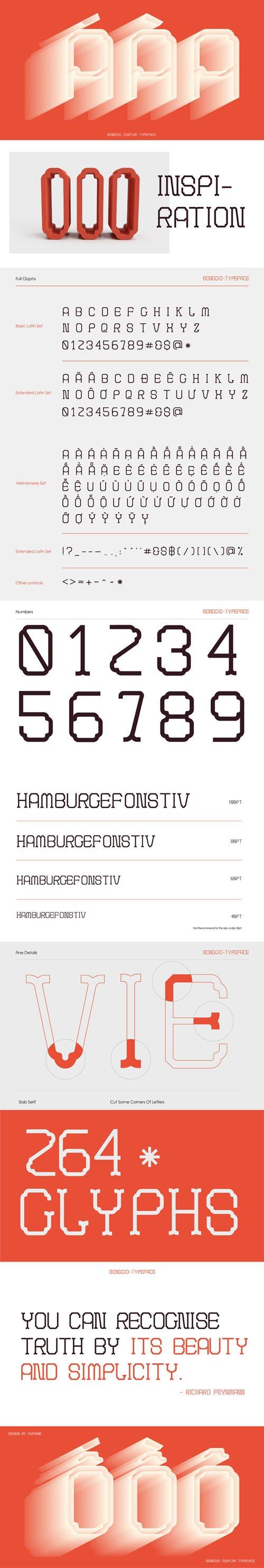 Bonggio Display Typeface