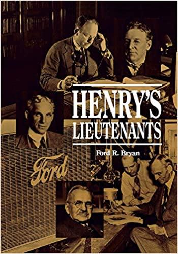 Henry's Lieutenants