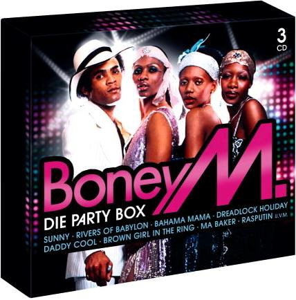 Download Boney M - Die Party Box 3CD Box (2010) MP3 - SoftArchive