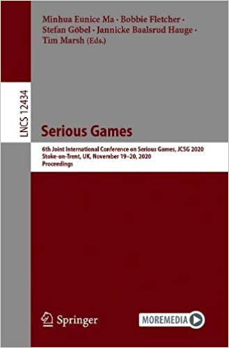 Serious Games: Joint International Conference, JCSG 2020, Stoke on Trent, UK, November 19-20, 2020, Proceedings