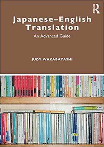 Japanese-English Translation: An Advanced Guide