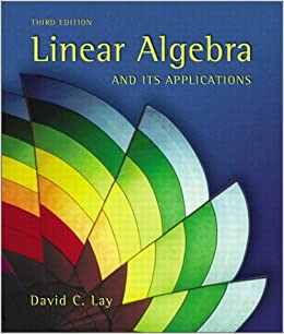 Linear Algebra and Its Applications, 3rd Edition
