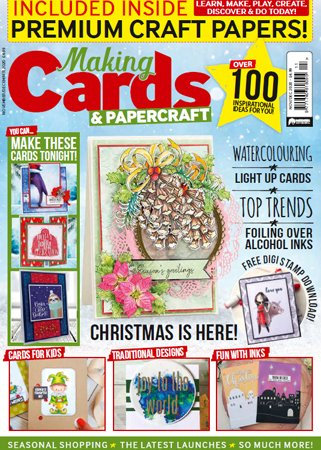Making Cards & Papercraft   November/December 2020