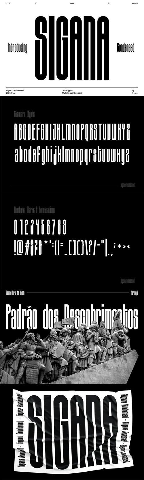 Sigana - Display Font