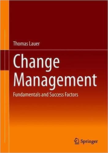 Change Management: Fundamentals and Success Factors
