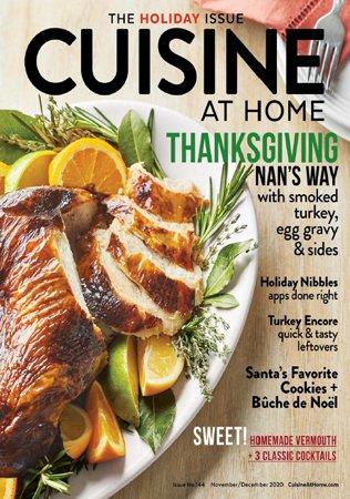 Cuisine at Home   November/December 2020