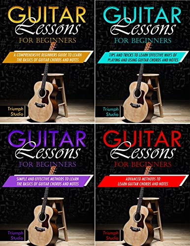 Guitar Lessons for Beginners: 4 in 1   Beginner's Guide Tips and Tricks   Simple and Effective Strategies